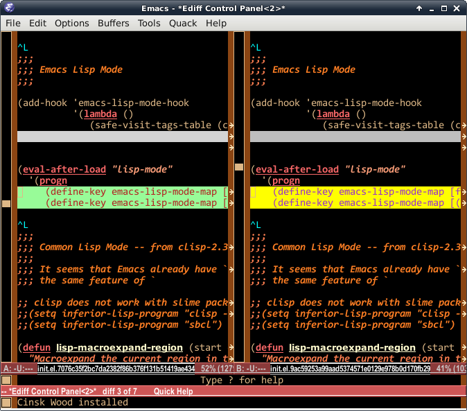 Smart ediff widen frame on Emacs   Seong-Kook Shin\'s Little World